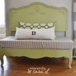 Turn a Headboard into a Bench