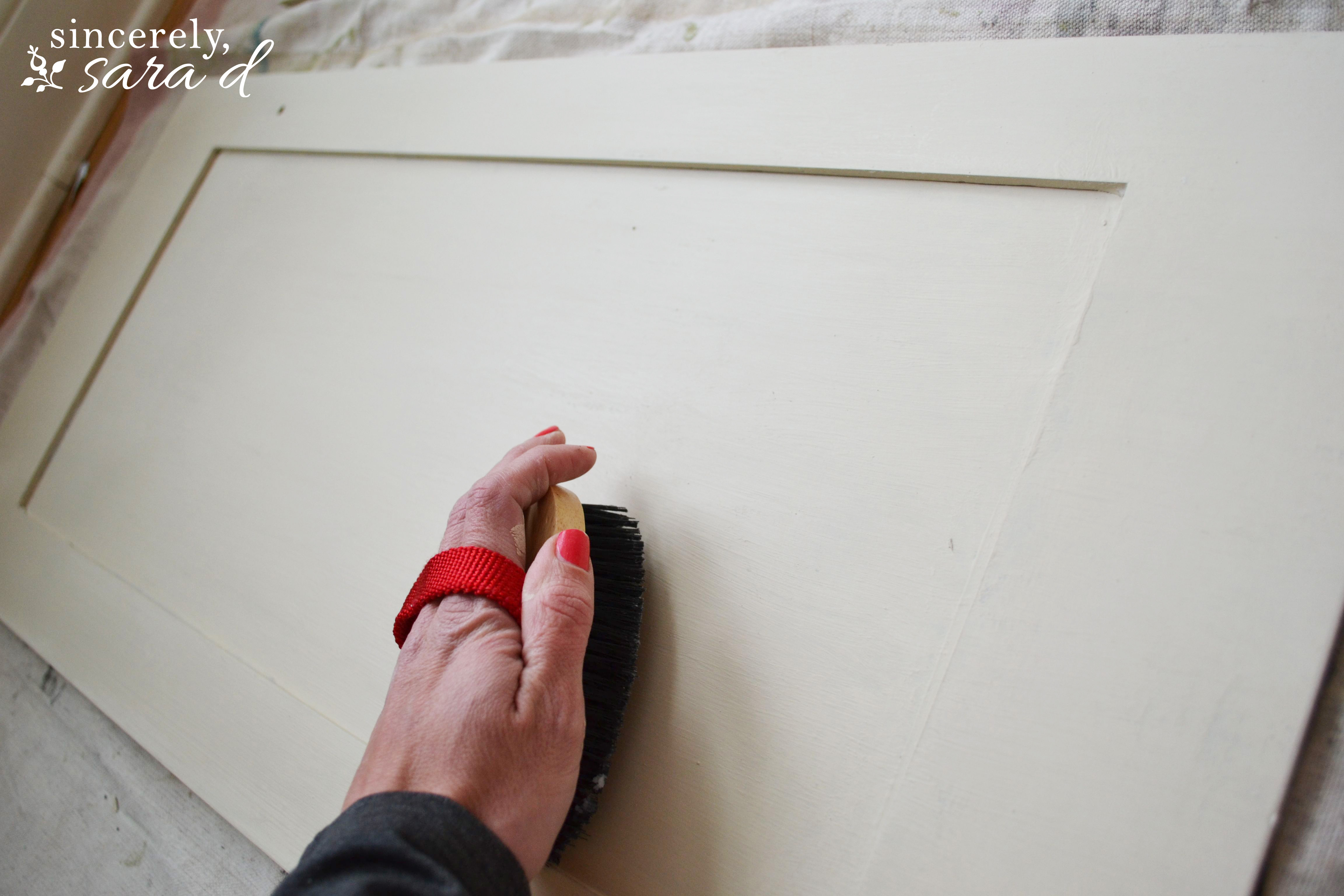 Painting Cabinets with Chalk Paint   Sincerely, Sara D.