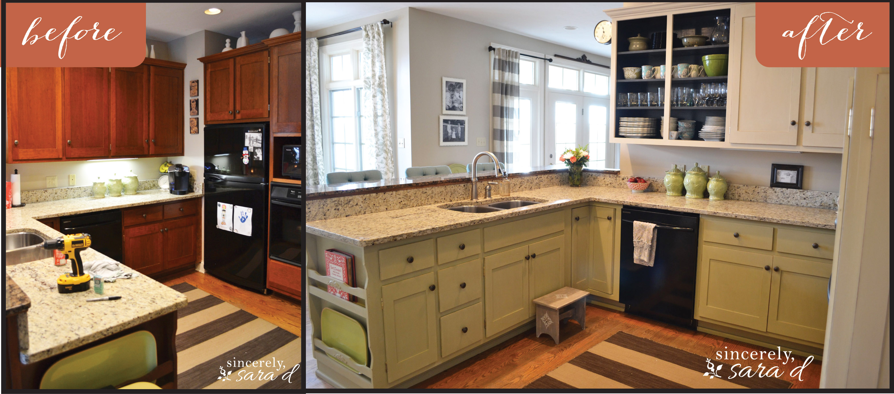 Painting Kitchen Cabinets with Chalk Paint – Update