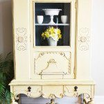 The Yellow Painted Hutch