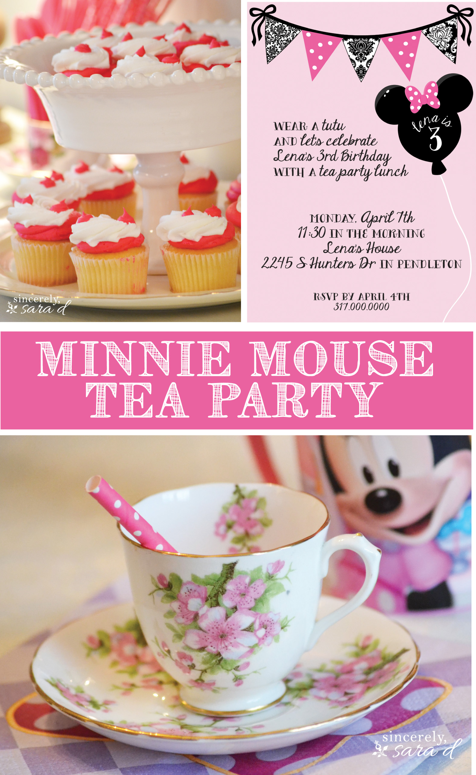 Minnie Mouse Invitations Etsy is amazing invitations example