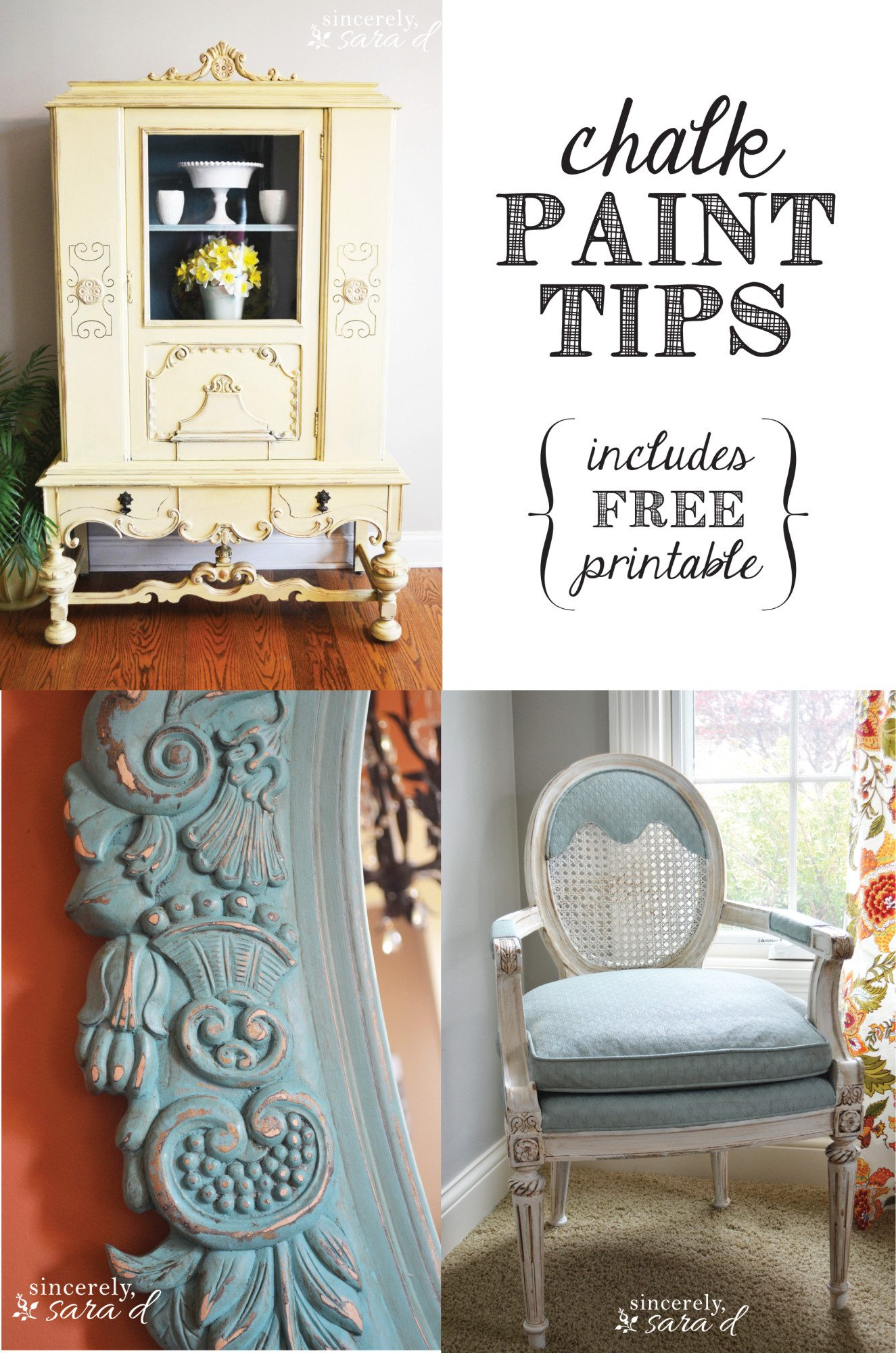 Chalk Paint Tips Sincerely Sara D
