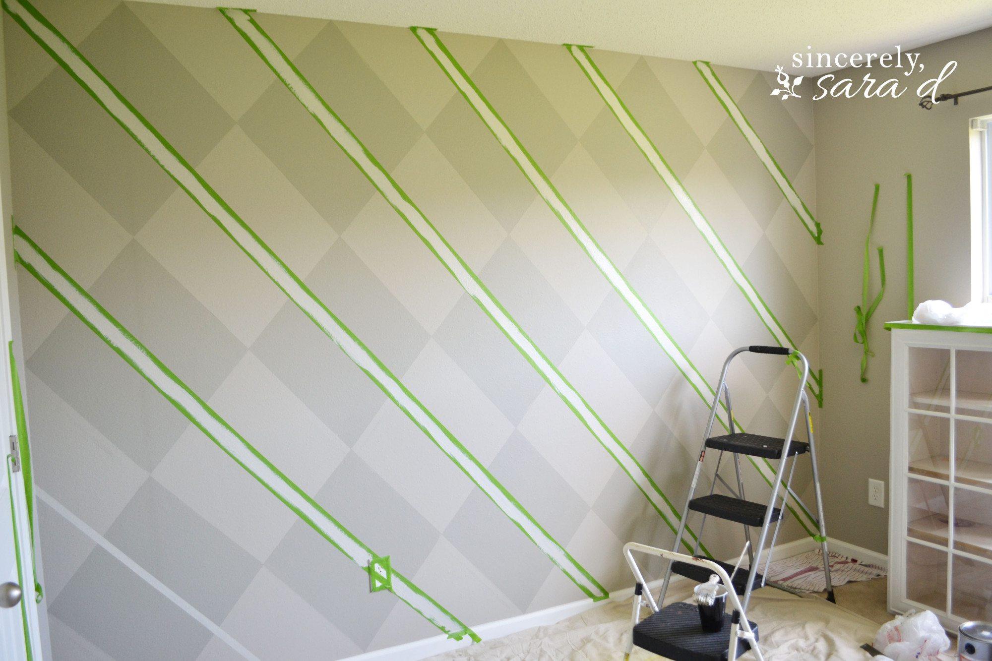Argyle Wall 12