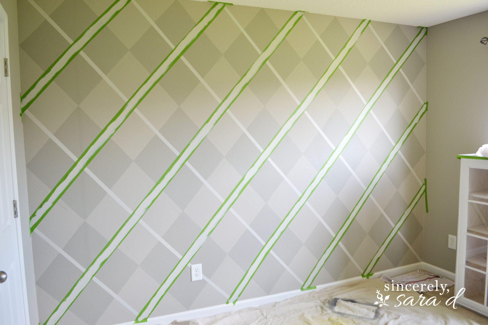 Argyle Wall 15