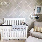 Argyle Wall Nursery Reveal