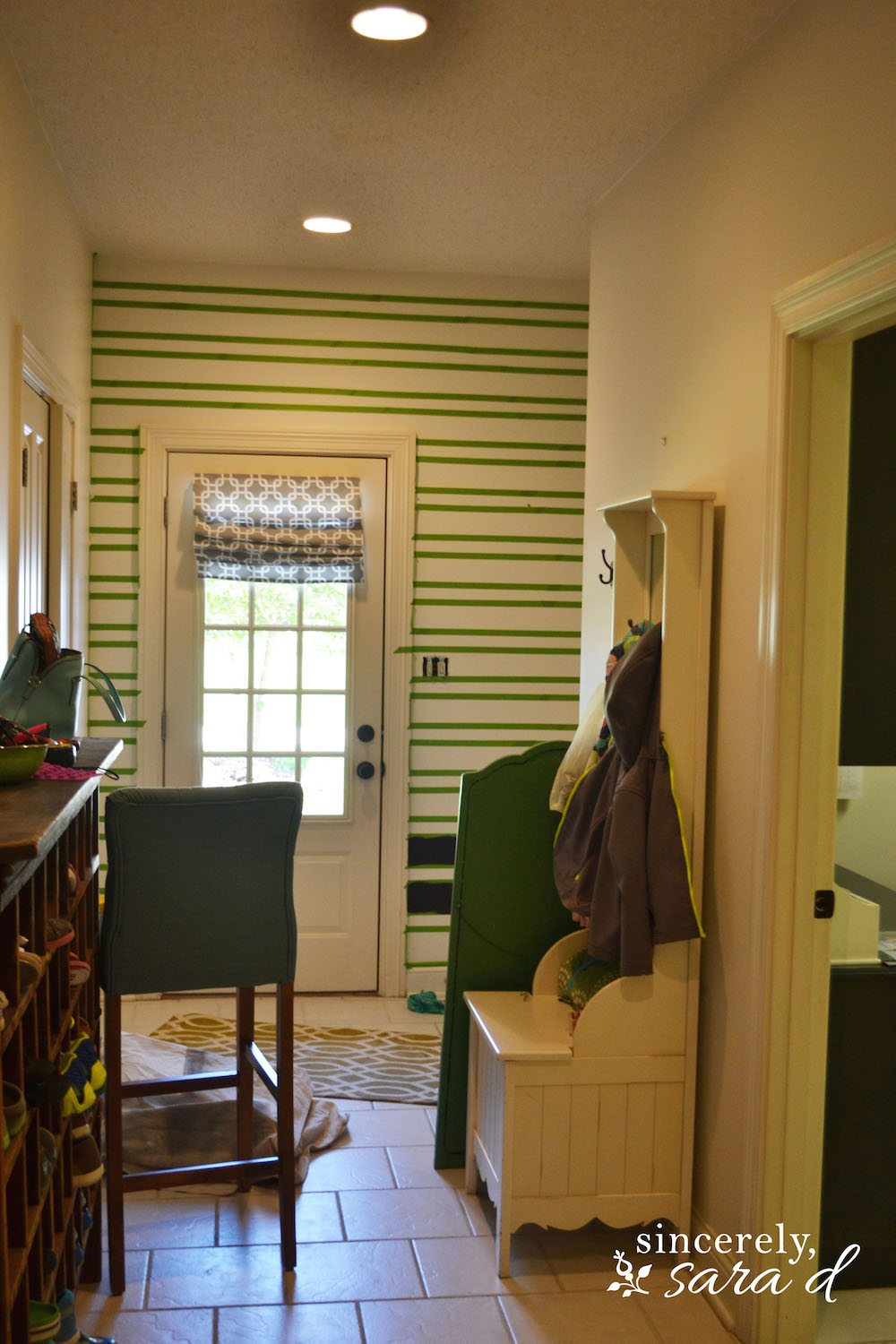 Mudroom Stripes 4
