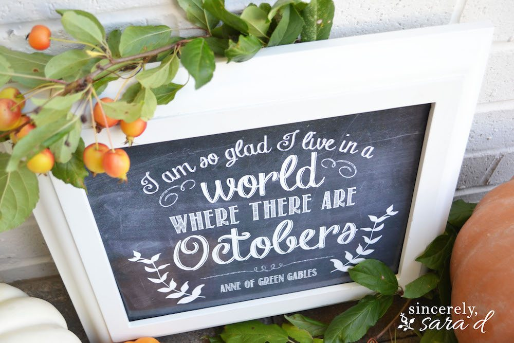Octobers_Anne of Green Gables Print 1