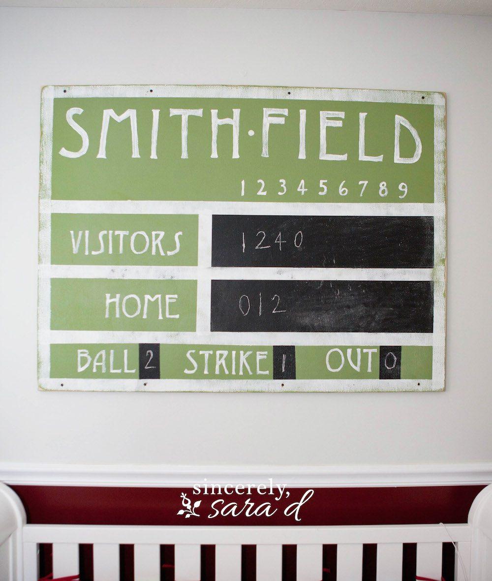 Vintage Scoreboard 3