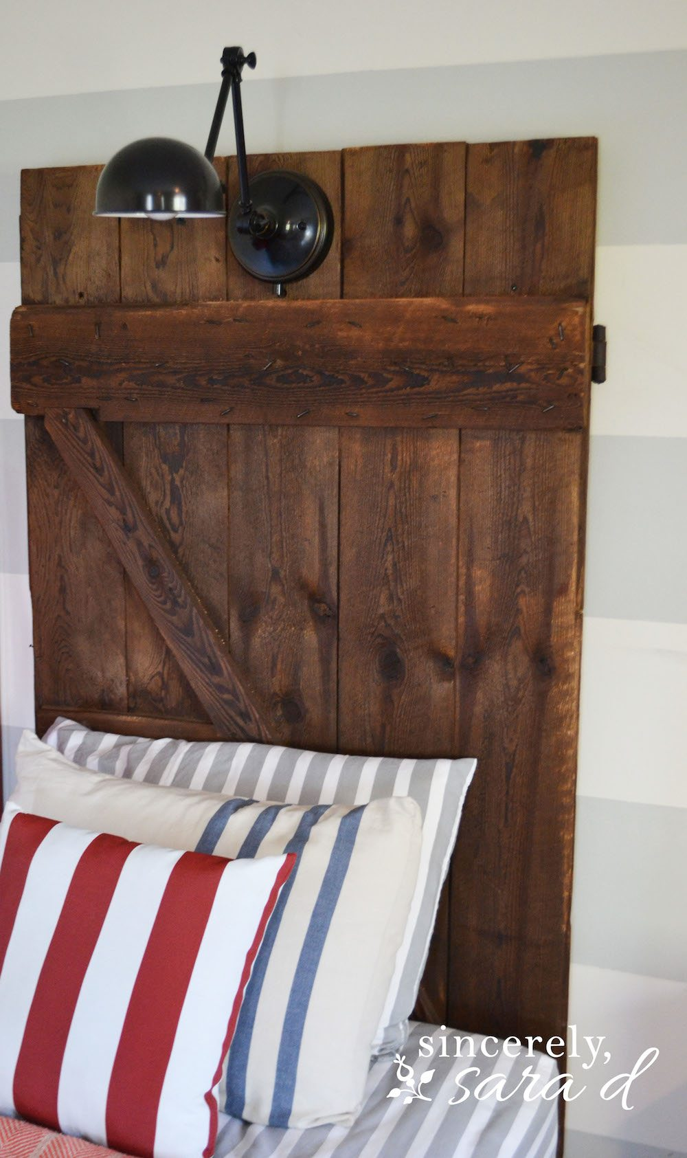 Barn Door Headboards 14