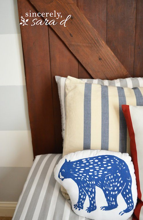 Boys Barn Door Headboards 1