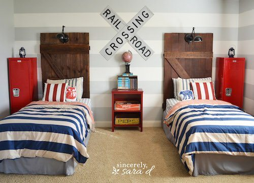 plans of projects twin diy old door ana beautiful brookstone simple finish reminiscent barn needs just a white an headboard