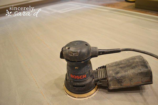 Sand Wood Floor