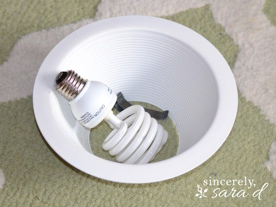 Recessed Lighting Clips Not Working : How to transform a recessed light into chandelier