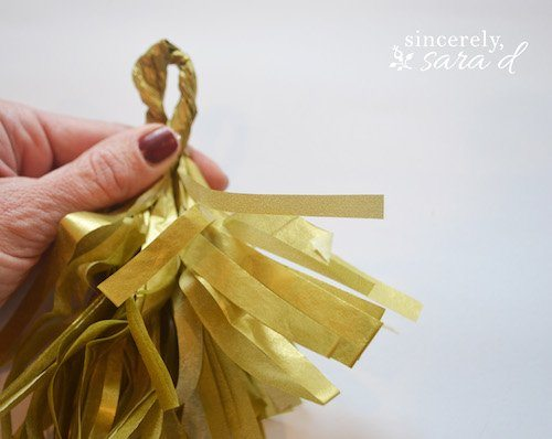 Step 13 Party Tassel