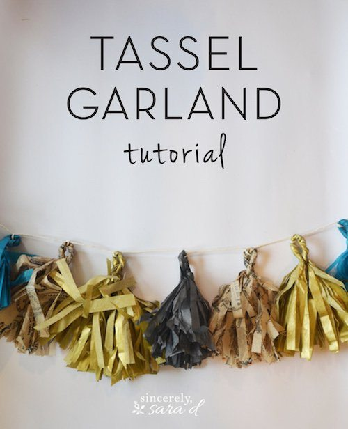 Tassel Garland Tutorial