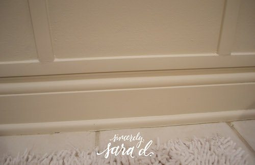 Bathroom Wainscoting*