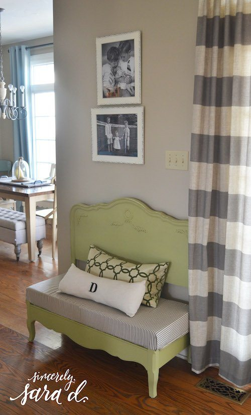 Bed Bench in Living Room