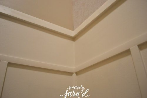 Corner of Wall Treatment