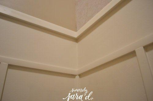 Corner of Wall Treatment