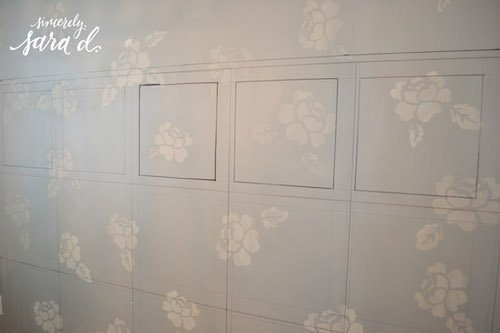 Drawing Wall Treatment
