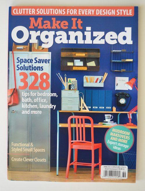 Make It Organized Magazine Feature