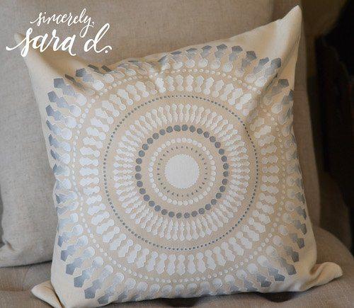 Paint a Pillow Neutral