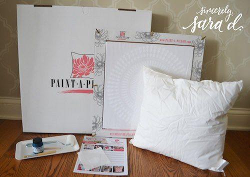 paint a pillow kit *