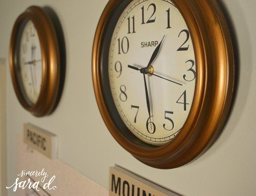 Us time zone clocks sincerely sara d us time zone clocks publicscrutiny Image collections