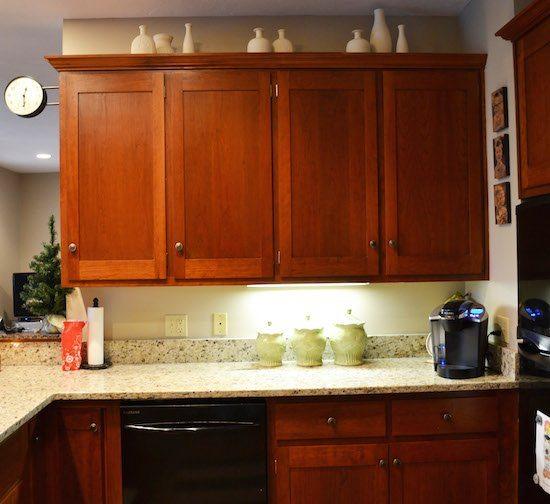 Tile Under Kitchen Cabinets: Kitchen Mini-Makeover: Subway Tile