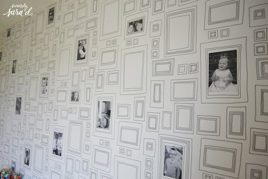 Wallpaper with Frames