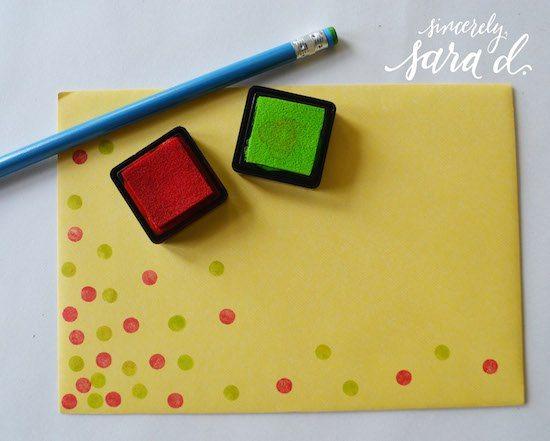 Eraser Stamping