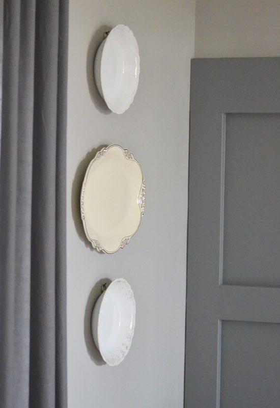 Old Plates on Wall
