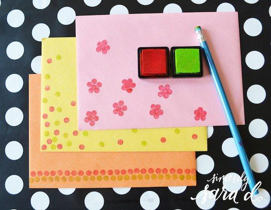 Pencil-Eraser-Stamp