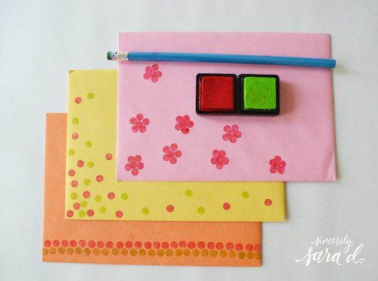 Pencil-Eraser-Stamping