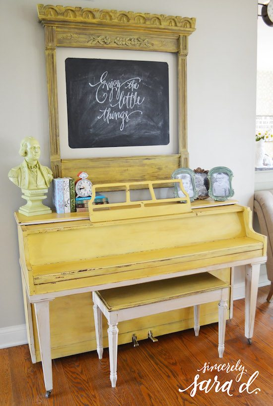 Yellow Painted Piano*