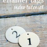 (French-Inspired) Enamel Tag Video Tutorial