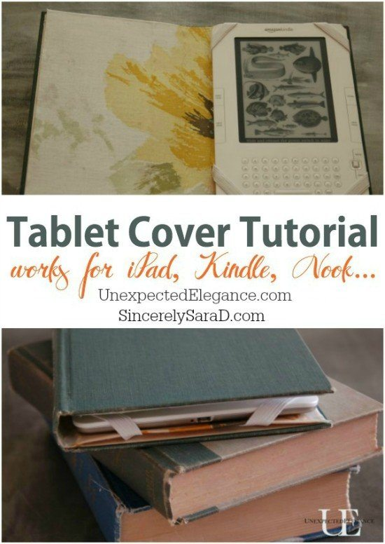 DIY Tablet Cover Video Tutorial