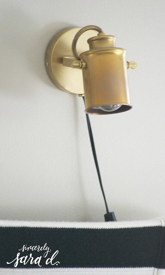 Wall Lamps For Renters : Inexpensive Decorating Tips for Renters Sincerely, Sara D.