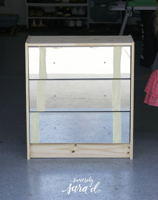 Adding Mirrors to drawers