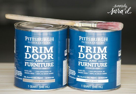 Pittsburgh Paints Trim Door & Furniture Paint