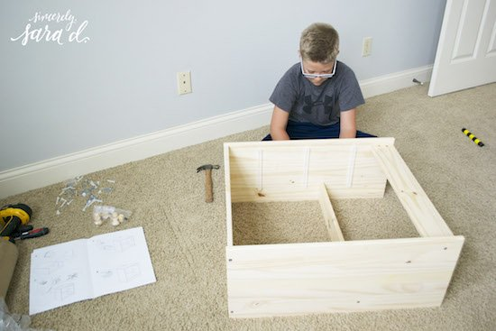 Putting dresser together copy