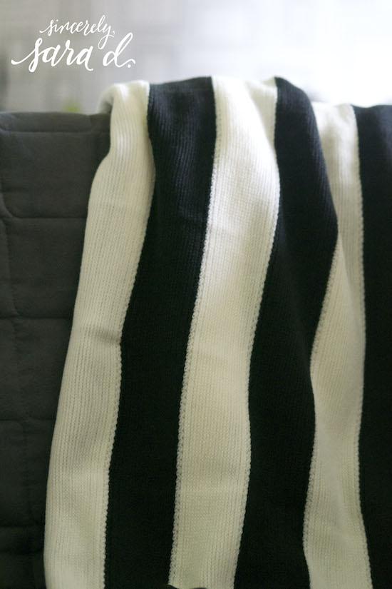 Striped Ikea Blanket