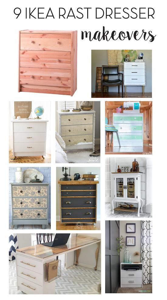 9 IKEA Rast Dresser Makeovers