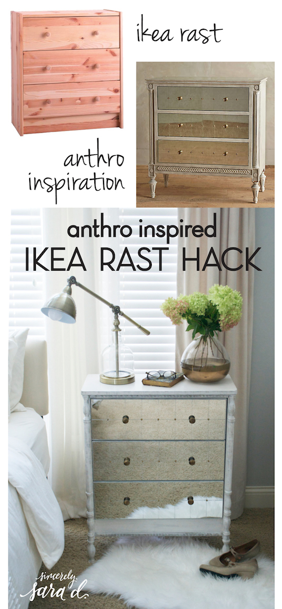 Anthro-Inspired IKEA Rast HAck
