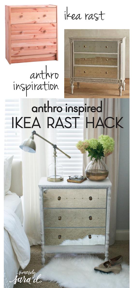 Ikea Rast Kommode anthropologie inspired ikea rast dresser hack sincerely d