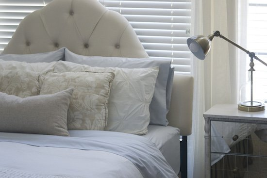 Adding pillows to your bed