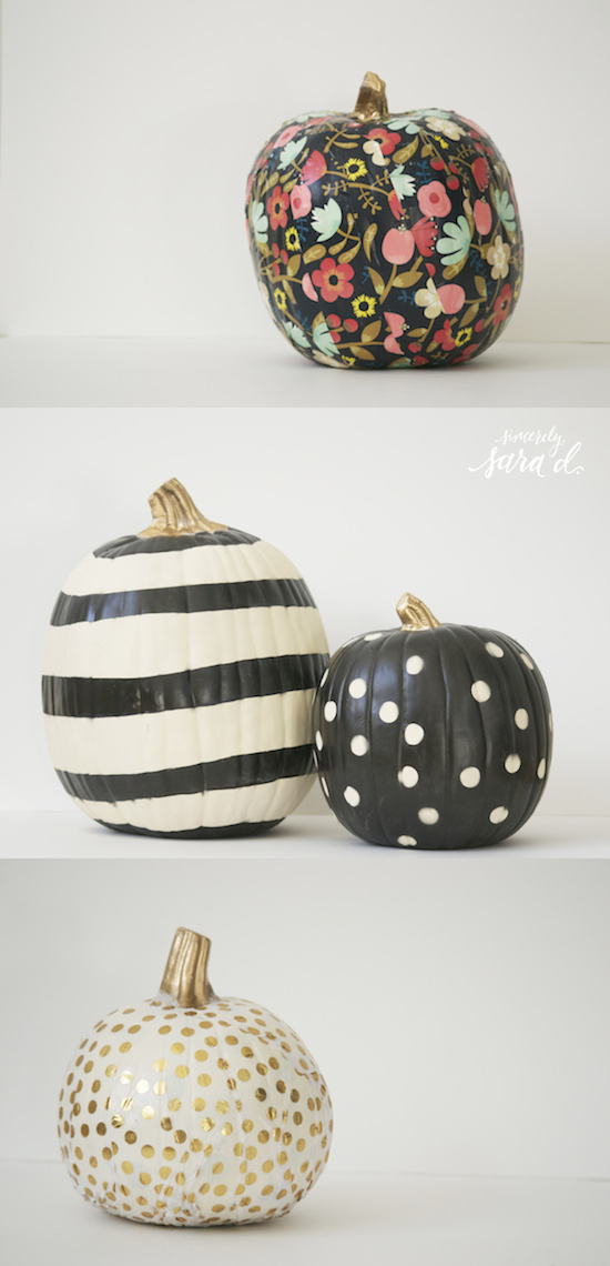 Unique Ways to Decorate Pumpkins