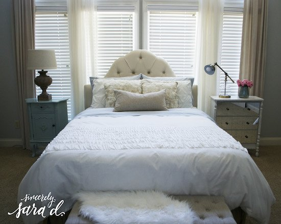 Making a Pretty Bed