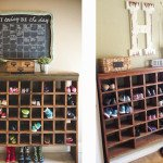 Reader Spotlight: Kristi's DIY Shoe Cubby