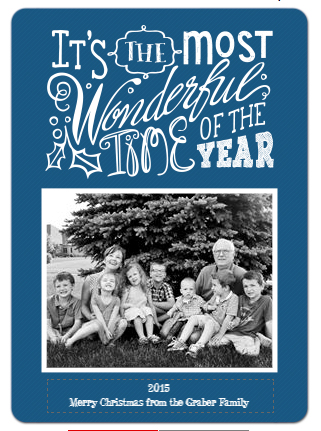 Staples Christmas Card - Front